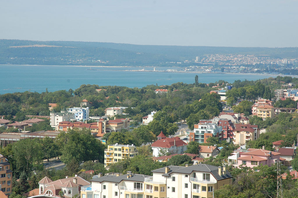 Varna Bulgaria  city images : aerial view of varna bulgaria photo by bezrukov creative commons