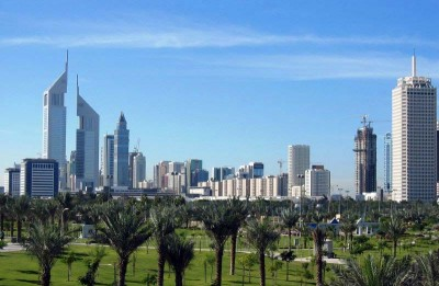 Dubai--Skyline