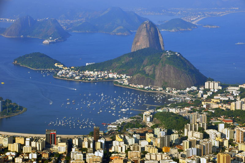 Harbour Of Rio De Janeiro http://famouswonders.com/seven-natural-wonders-of-the-world/