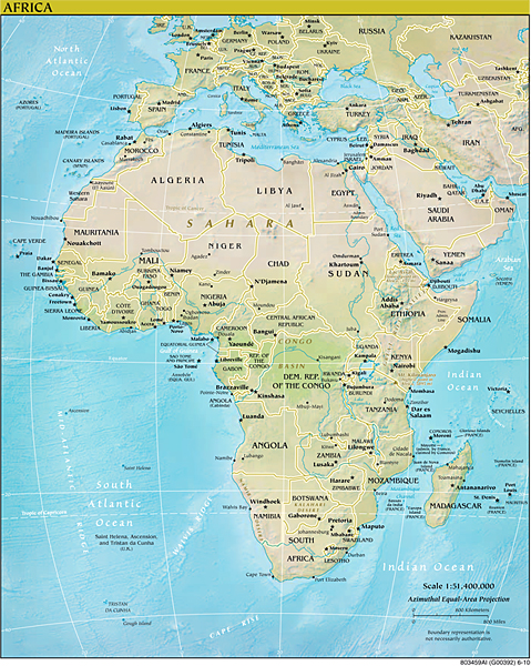Africa Famous Landmarks  Tourist Attractions