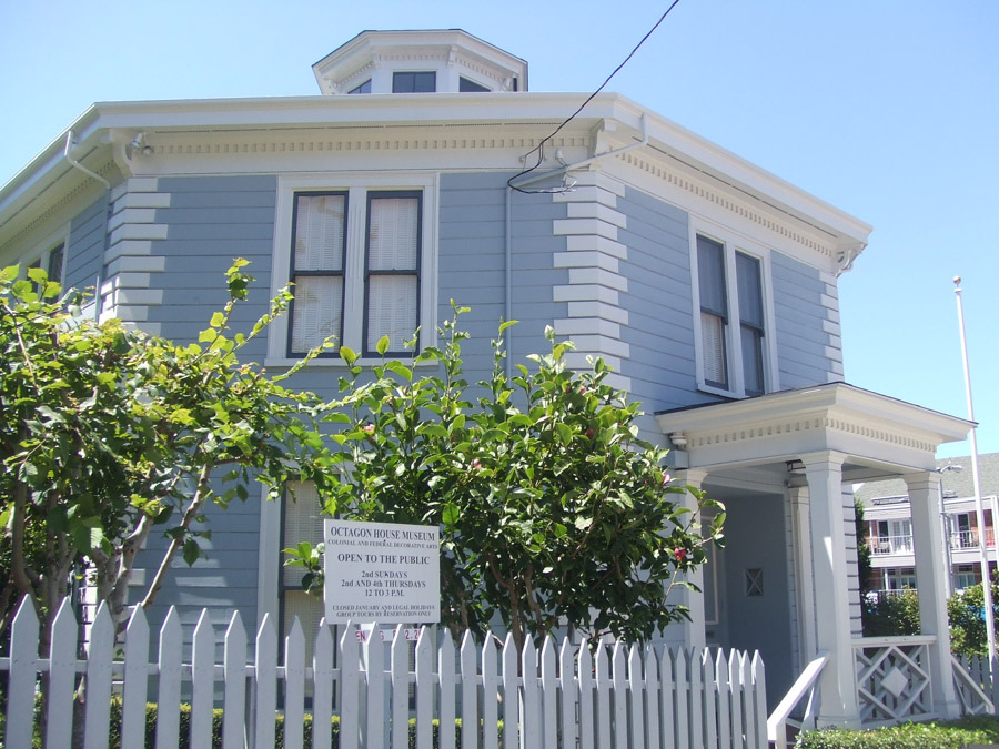 Octagon House Facts & History – San Francisco, CA