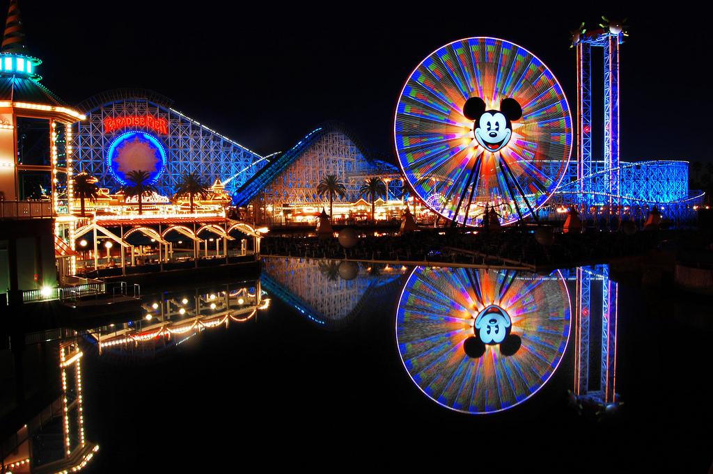 Disneyland-night
