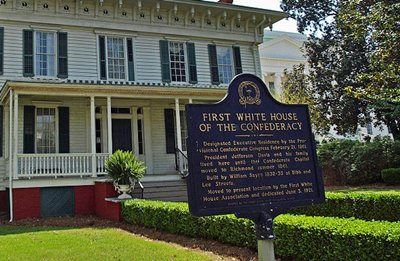 First White House of The Confederacy Confederacy White House