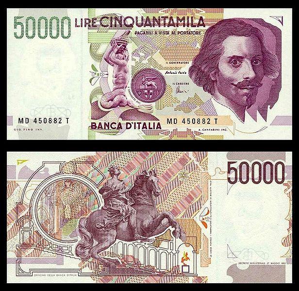 Italian Lira Italian Money