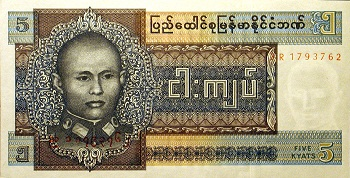 Kyat is the official currency of which Asian country