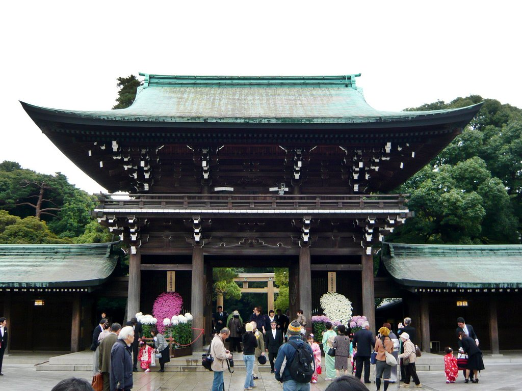 Gates of Meiji Shrine
