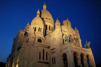 Sacre-Coeur-Nighttime