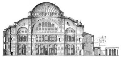 Hagia-Sophia-architecture
