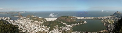 Harbor of Rio de Janeiro panorama