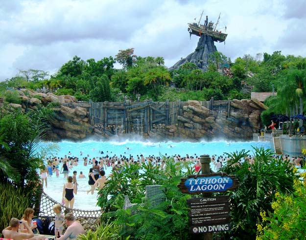 Disney World S Typhoon Lagoon Lake Buena Vista Florida Usa