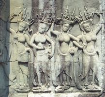 Devatas - Female Guardians Angels - Characteristics of Angkor Wat Style