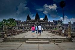Nice Sky View of Angkor Wat