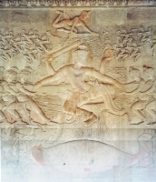The Bas Relief of the Churning of the Sea