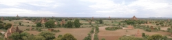 A Wider Panorama View of Bagan