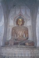 Buddha Inside the Bagan Temple
