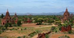 Wider View of Bagan