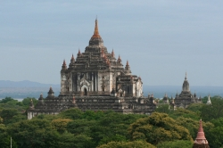 Up Close of Bagan Temples
