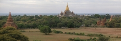 Panorama View of the Cool Temples