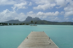 Bora Bora at the Airport