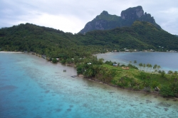 The Bora Bora Island Beauty