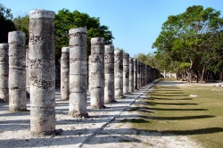 Columns in the Temple of a Thousand Warriors