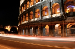 Time Stops at the Colosseum