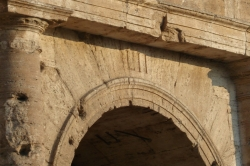 Arch of the Entrace at the Colosseum