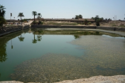 Sacred Pool at Karnak Temple