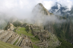 A Foggy View of Machu Picchu