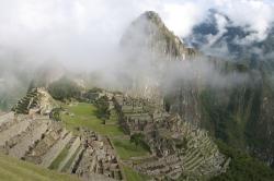 A Foggy View of Machu Picchu