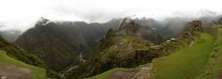 Incredible Panorama View of Machu Picchu