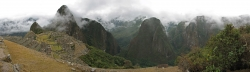 Panorama View of Machu Picchu