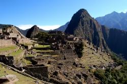 Steps are Very Steep at Machu Picchu