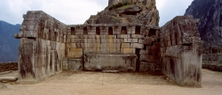 Sacred Square at Machu Picchu