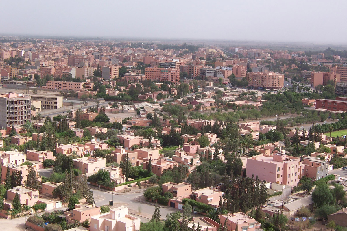 Marrakech City of Morocco