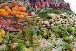 Fruits and Vegetables at Marrakech