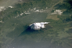 Images of Mt Fuji Taken From the ISS