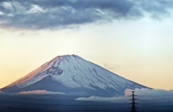 Wonderful Sky View of Mount Fuji