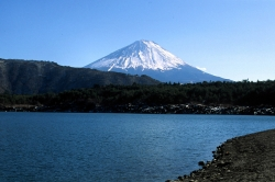 Mt Fuji View From the Five Lakes
