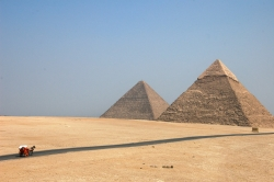 Road to the Great Pyramids