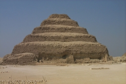 Djoser's (Zoser's) Step Pyramid, The First Pyramid built in 2630 B.C.