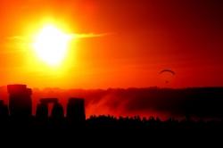Solstice Dawn at Stonehenge Wiltshire