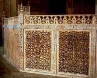 Jali Screen Surrounding the Cenotaphs
