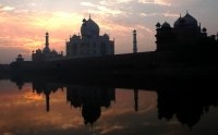 Winter Sunrise At the Taj