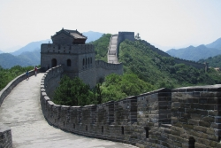 Nice View and Composition of the Great Wall