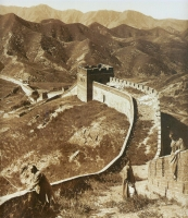 This is What the Great Wall Looks Like in 1907