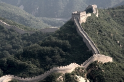 Snaking View of The Great Wall of China