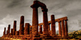 Agrigento and Its Ruins in Sicily